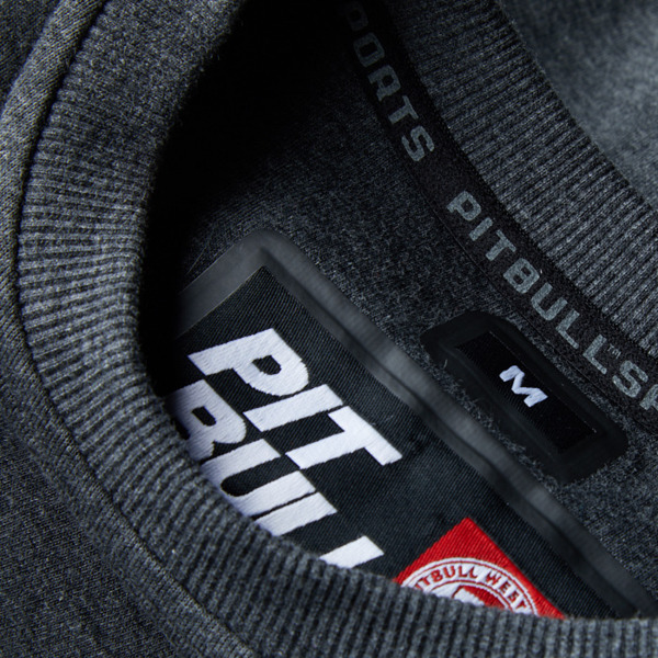 Pit Bull Bluza bez kaptura FLIPPER Grafitowa