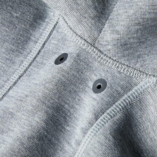 Pit Bull Bluza rozpinana z kapturem LOGAN Szara