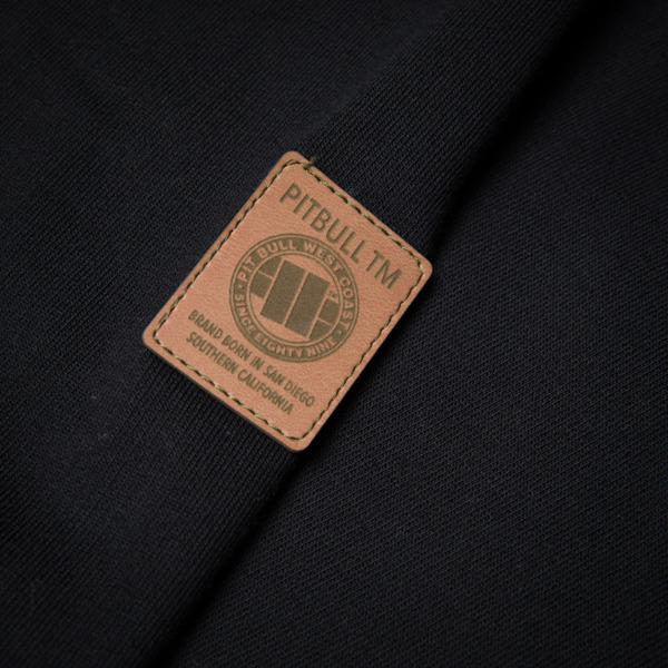 Pit Bull Bluza z kapturem CLASSIC LOGO Czarna