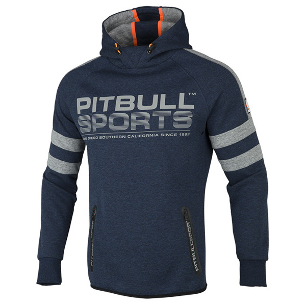 Pit Bull Bluza z kapturem RAVEN Granatowa