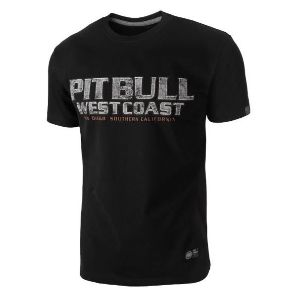 Pit Bull Koszulka FIGHTER Czarna