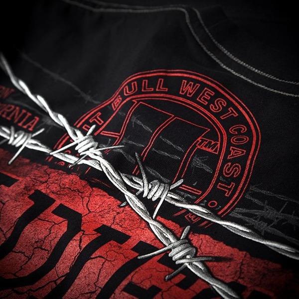 Pit Bull Koszulka THUG LIFE 89 Czarna