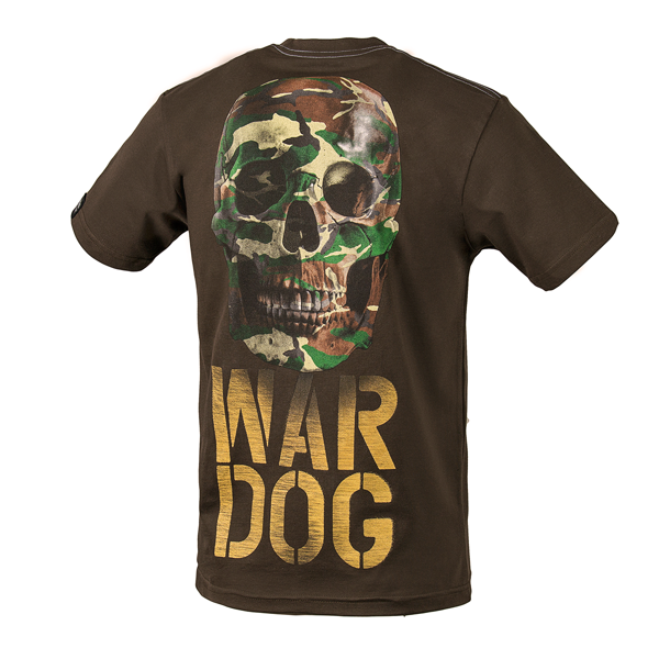 Pit Bull Koszulka WAR DOG Brąz