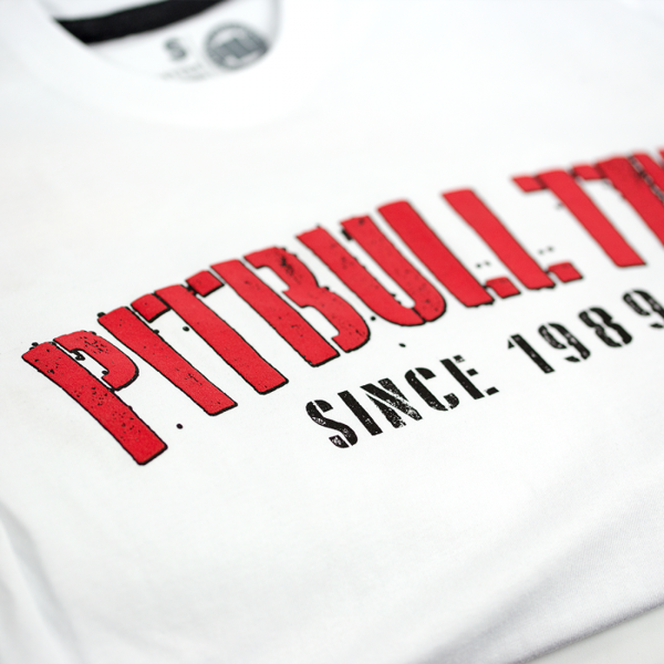 Pit Bull Koszulka WELCOME TO GANGLAND Biała