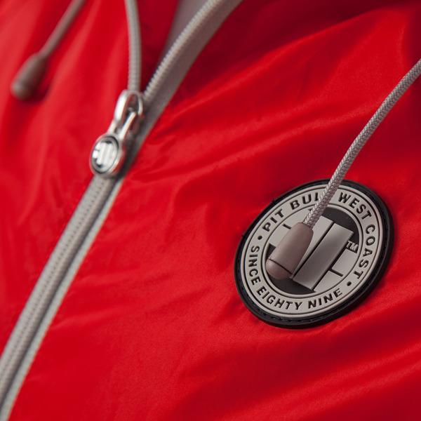 Pit Bull Kurtka przeciwdeszczowa ELMHURST Czerwona