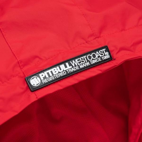 Pit Bull Kurtka przeciwdeszczowa ATHLETIC X Czerwony