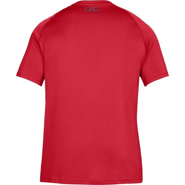Under Armour Koszulka Sportowa THREADBORNE Czerwona