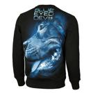 Pit Bull Bluza bez kaptura BLUE EYED DEVIL X Czarna